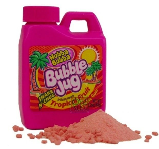 Bubble Jug: AKA the strangest gum to have ever existed. // The 35 Best School Lunch Snacks of All Time