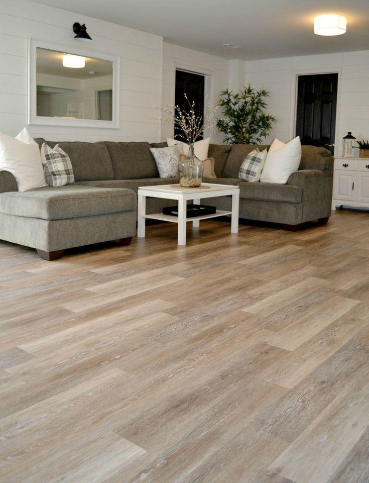 Luxury Vinyl Plank Flooring, Vinyl Plank Flooring Basement Installation