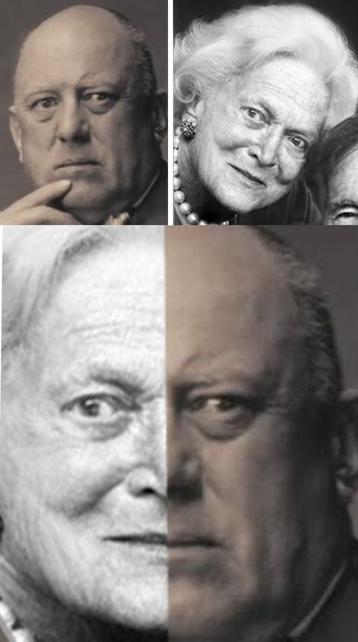 WHAT IF??? Barbara Bush & Aleister Crowley were biologically father and daughter?? - They say the eyes don't Lie. I will admit there is a resemblance.