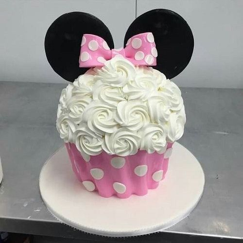 15+ Best Minnie Mouse Birthday Cake Ideas with Beautiful Image