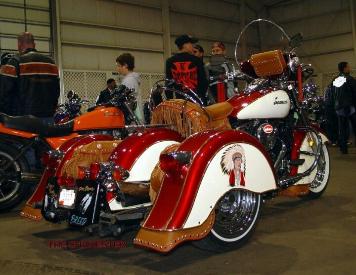Indian trike harley davidson and indian pinterest indian for Three wheel motor bike in india