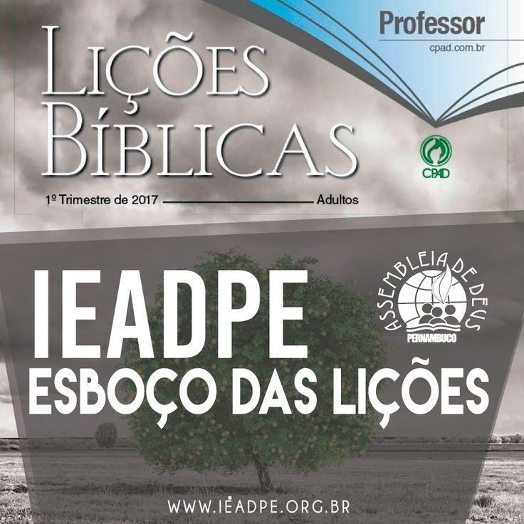 Comentário sobre a lição 02: O Propósito do Fruto do Espírito, publicado no Portal da IEADPE.