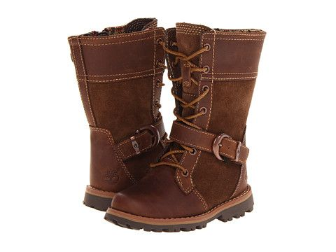 Timberland Kids Earthkeepers® Asphalt Trail Girls' Bethel Buckle (Toddler/Little Kid) Brown - Zappos.com Free Shipping BOTH Ways