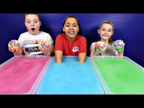 DIY SLIME VALENTINES FOR SCHOOL - MAKING 2 GALLONS OF FLUFFY SLIME FOR SCHOOL - YouTube