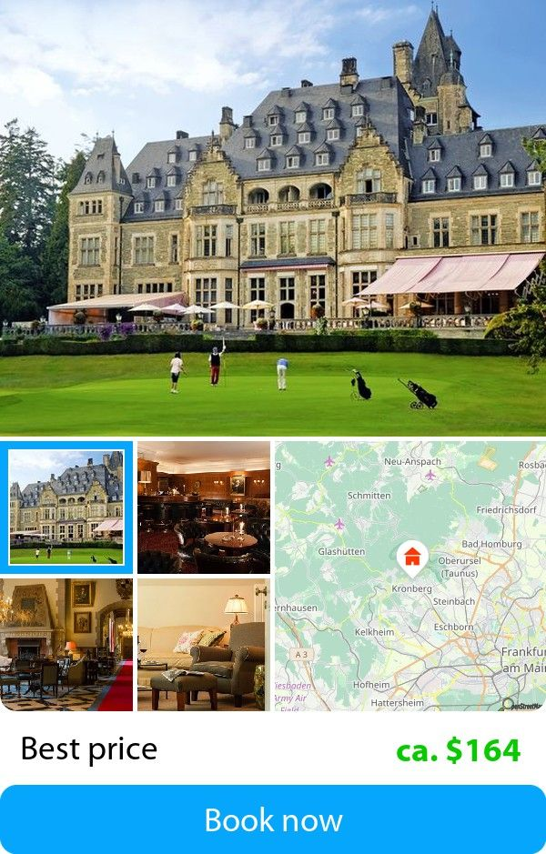 Schlosshotel Kronberg (Kronberg im Taunus, Germany) – Book this hotel at the cheapest price on sefibo.