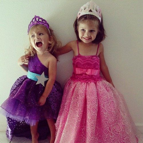 Barbie Princess And Popstar Keira Purple Convertible Dress