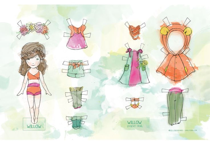 Paper Doll, free download from Stylo Magazine
