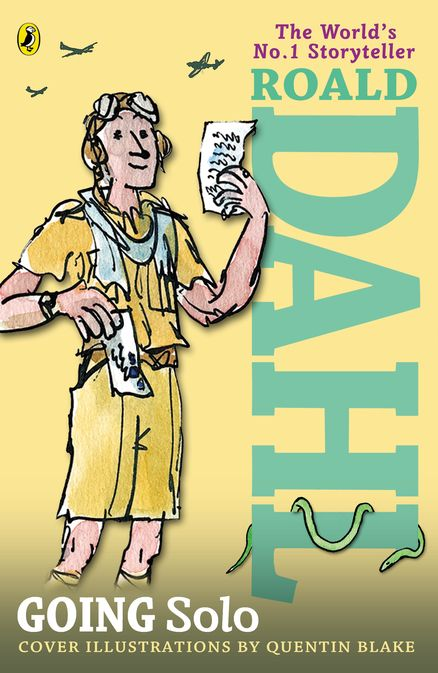 Going Solo by Roald Dahl - Penguin Books USA