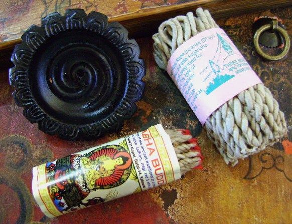 Rope Incense & Burners
