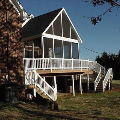 Screened Porch High Pitch Gable Roof Porches Photo Gallery Archadeck Of Fort Wayne