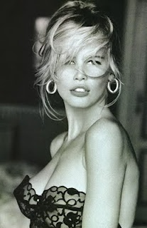 Remember the Guess ads from the 90's?  Love this picture of Claudia Schiffer!