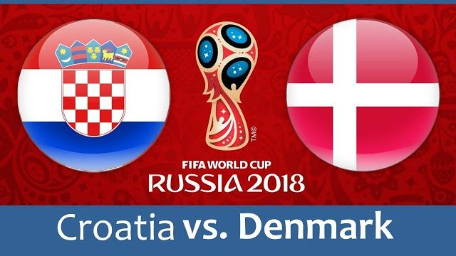 Croatia Vs Denmark Full Match Replay 01 July 2018 World Cup Match Fifa World Cup Croatia