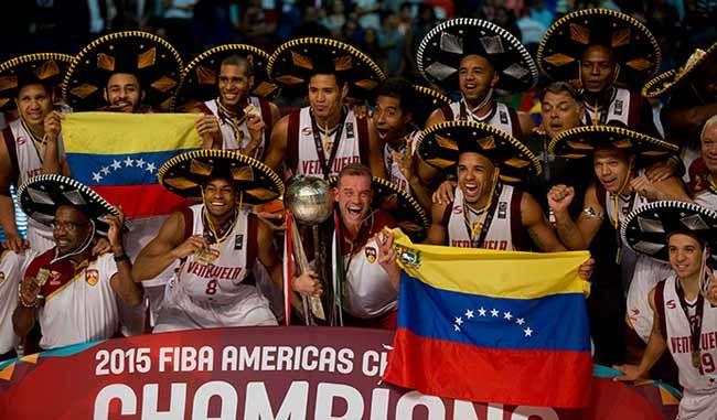 Venezuela asciende cinco puestos en ranking FIBA