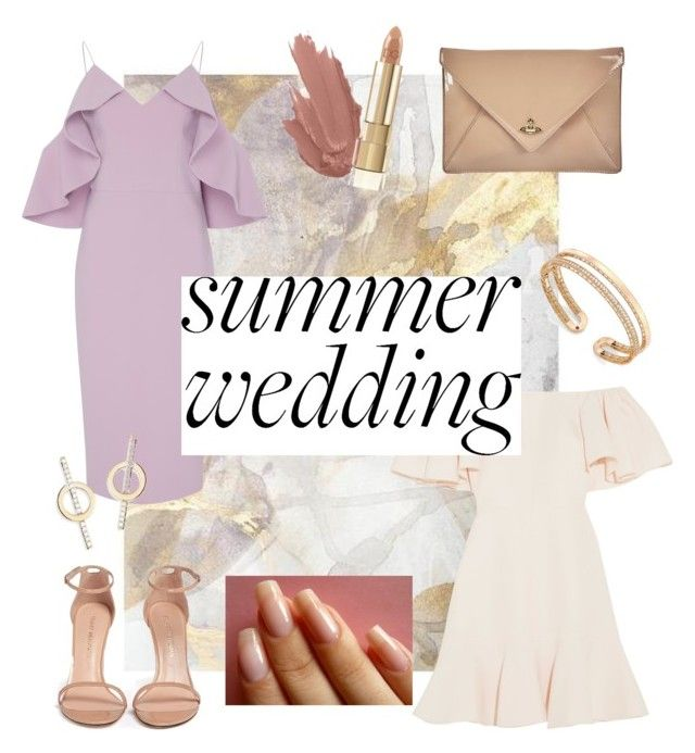 """""""Summer wedding!"""" by alana-alford on Polyvore featuring Christian Siriano, Valentino, Stuart Weitzman, Vivienne Westwood, Lana, Dolce&Gabbana and Roberto Coin"""