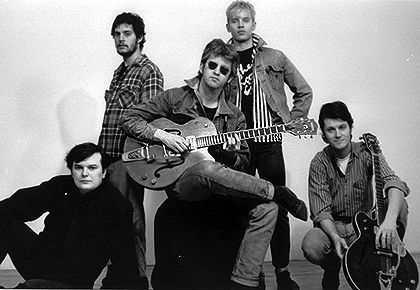 Blue Rodeo Bazil Donovan, Bob Wiseman, Greg Keelor, Mark French, Jim Cuddy (courtesy Artist Consulting Team Inc). Canadian Enclyclopedia