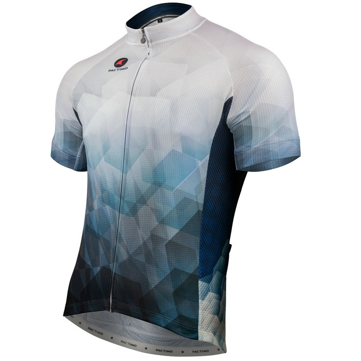Blue Point Cycling Jersey by Arlene Pedersen Men's | Artist-Inspired Cycling Apparel | Pactimo