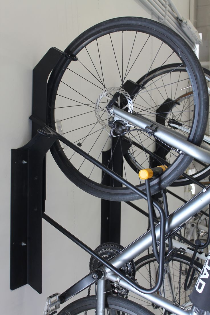 Look jeremy s bicycle rack apartment therapy - Park A Bike Vertical Offset Bike Rack 05