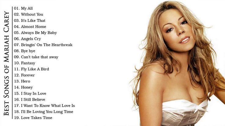Best Of Mariah Carey - Mariah Carey Greatest Hits [Full Album]