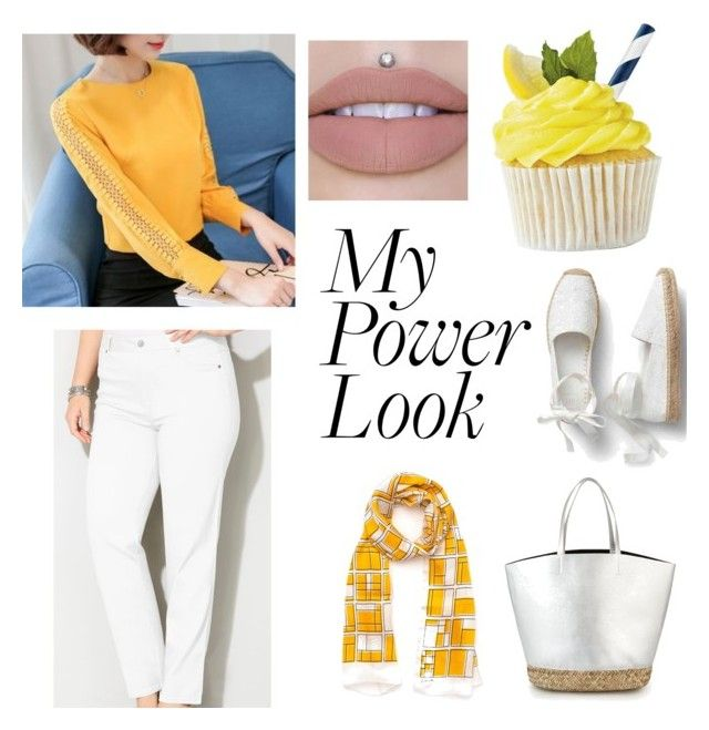 """""""Yellow Dream Power Look"""" by jasmine-hapsari on Polyvore featuring Joyce and Nim and Avenue"""