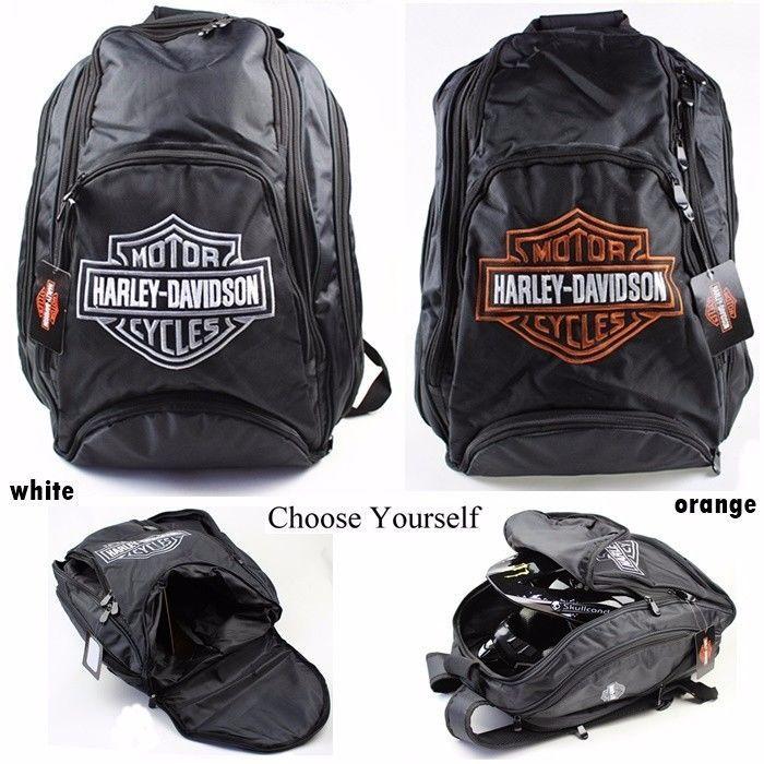 Harley Davidson Backpack,travel bag,Motorcycle Riding Bag,Motorcycle Backpack #Racing
