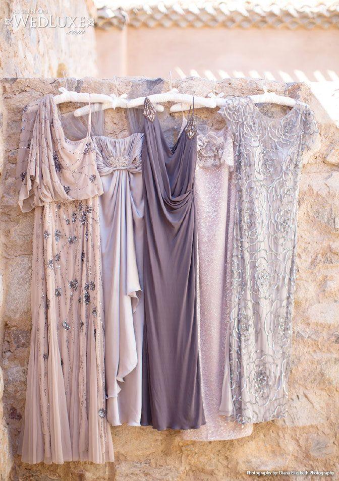Bridesmaid Dresses from Monique Lhuillier, Badgley Mischka, Marchesa, Aidan Mattox, Adrianna Papell