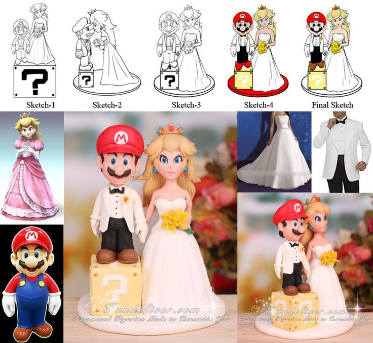 One Of The Best Mario Wedding Cake Toppers Ive Seen Have I Mentioned I Want A Mario Cake