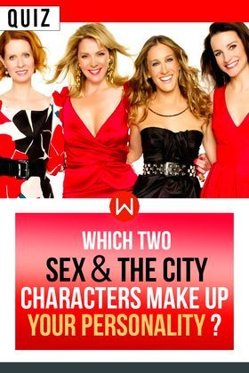 sex & the city personality test