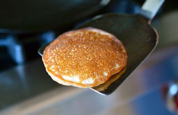 Cinnamon coconut paleo pancakes