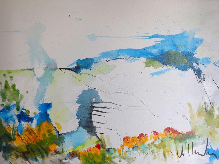 Landscape 1103 2017 80 x 60 cm