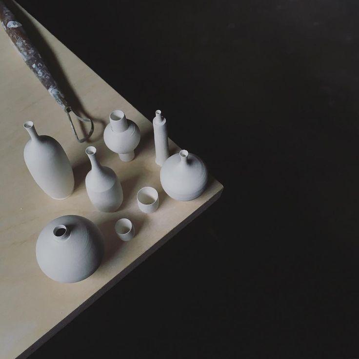 New Miniature Hand-Thrown Ceramics and Equipment by Jon Almeda