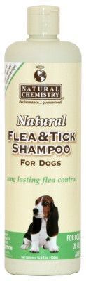 DOG FLEA SHAMPOOS - NATURAL FLEA & TICK SHAMPOO DOG 16OZ
