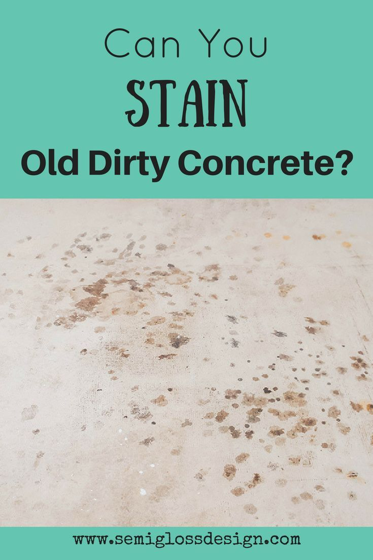 how to make concrete look good