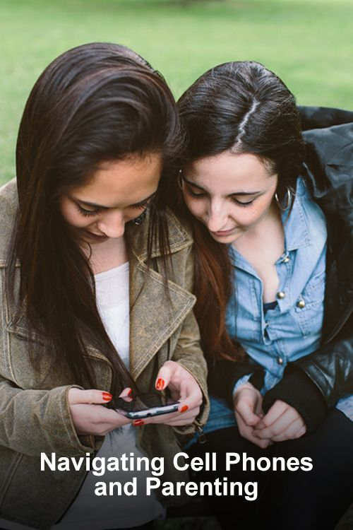 Navigating cell phones and parenting - great thoughts from a mom of a teen and a tween about first cell phones, responsibilities and guidelines for usages #parenting #teens #cellphones