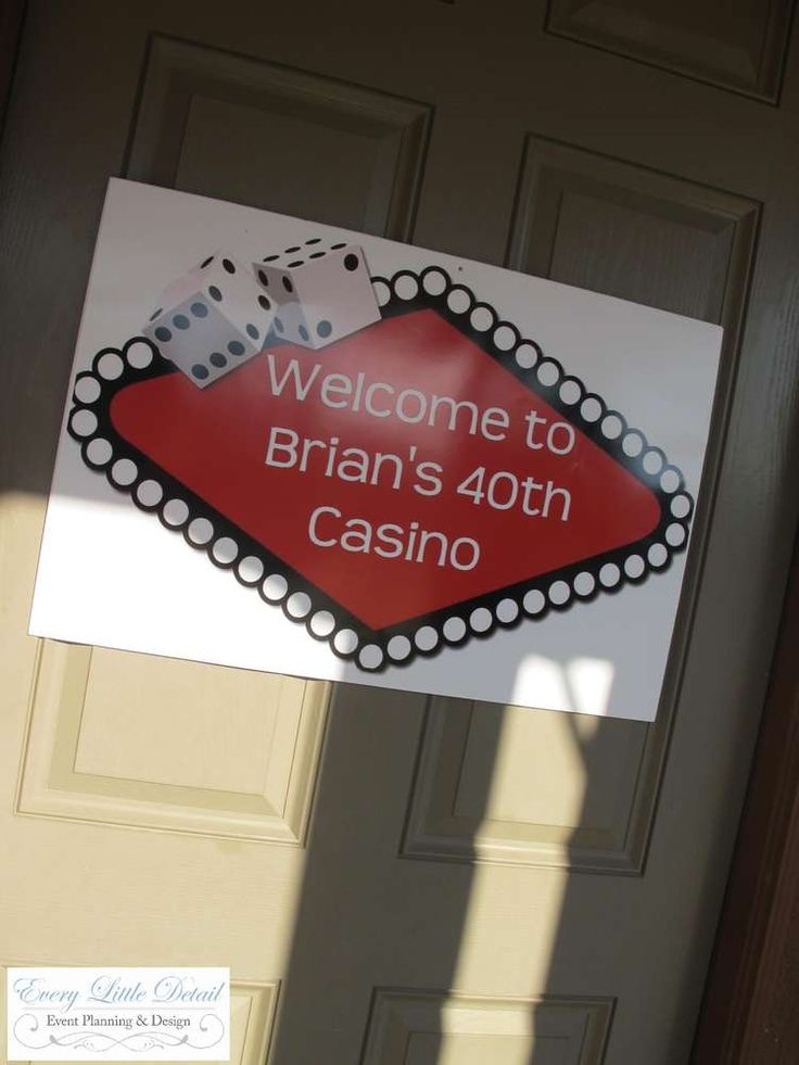 Casino themed party nz