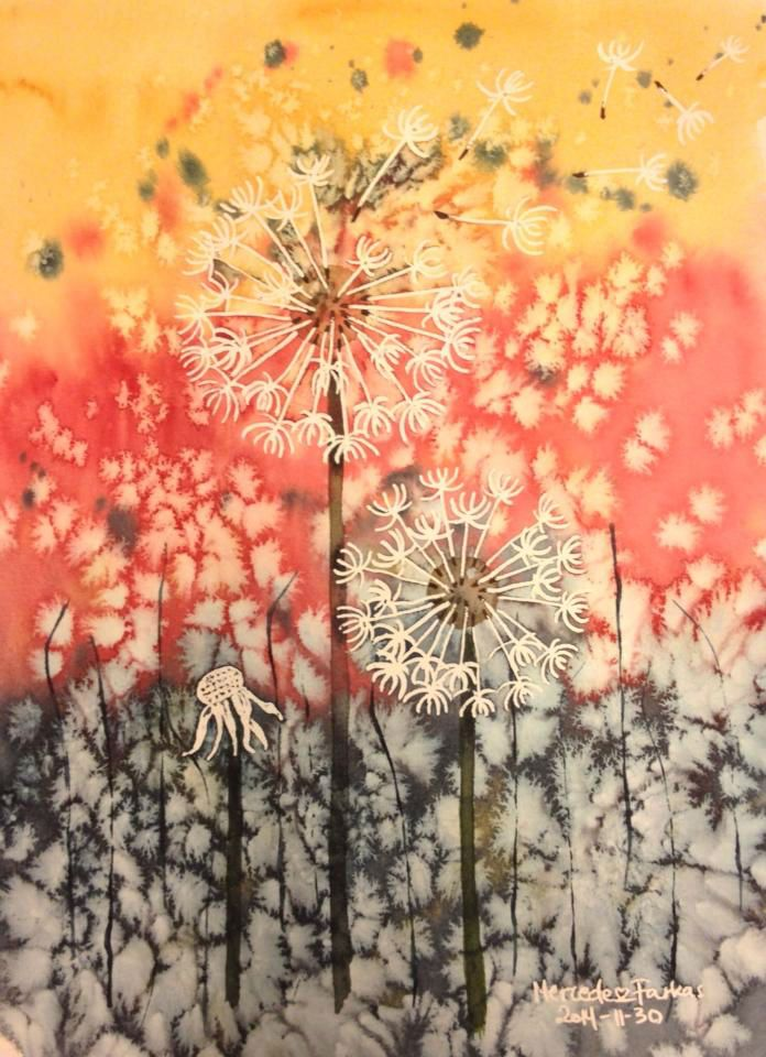 Dandelions from the moon :) My own work on nausikaart