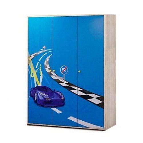 Шкаф детский Ижмебель Шкаф для одежды трехдверный 1