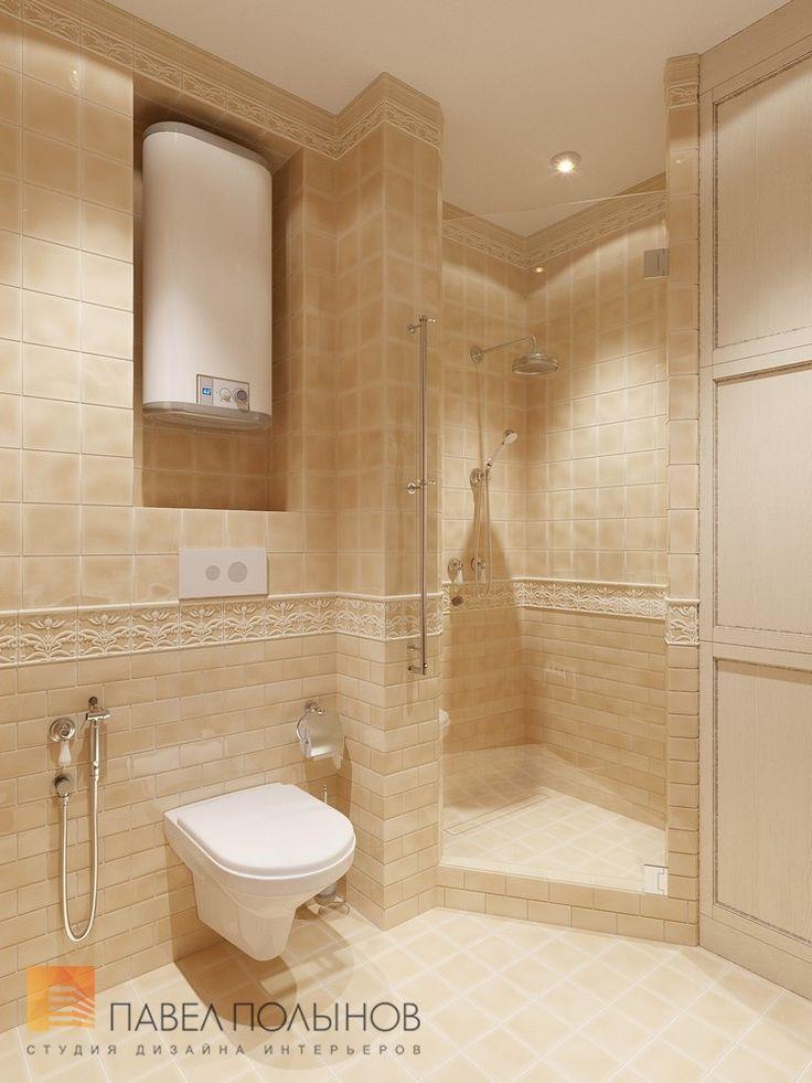 Фото: Ванная комната - Дизайн трехкомнатной квартиры в ЖК «Академ-Парк», 83 кв.м.