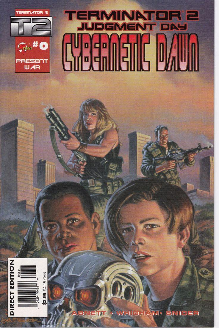 Terminator 2 Judgement Day: Cybernetic Dawn #0, April 1996 Issue - Malibu Comics - Grade NM
