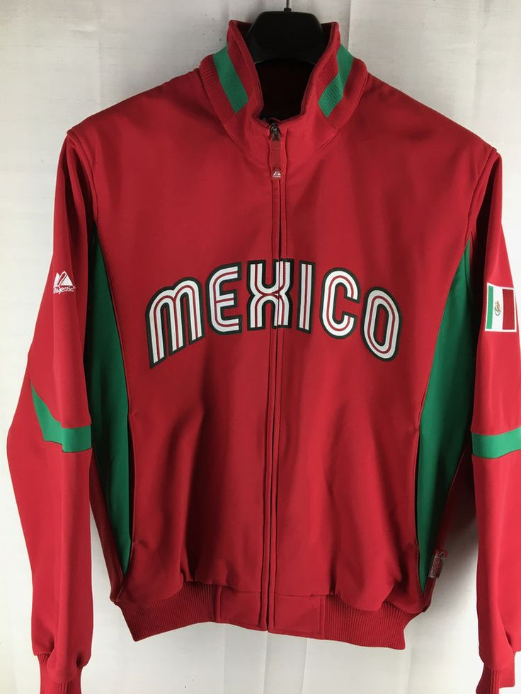 Mexico Jersey Red Jacket