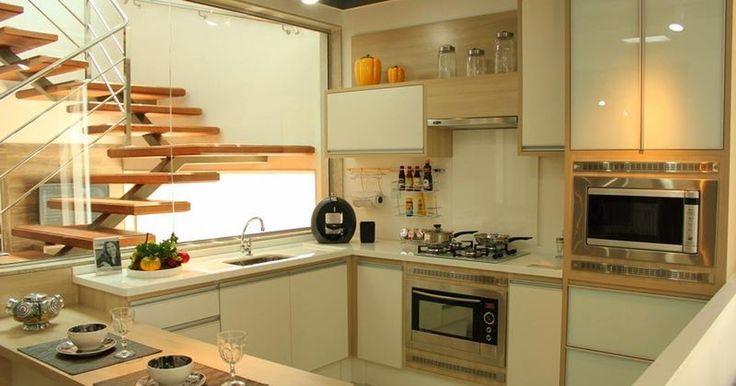 Cozinha Planejada com Cores Neutras de Outros Ambientes de Isabela Nunes Mayerhofer - Viva Decora
