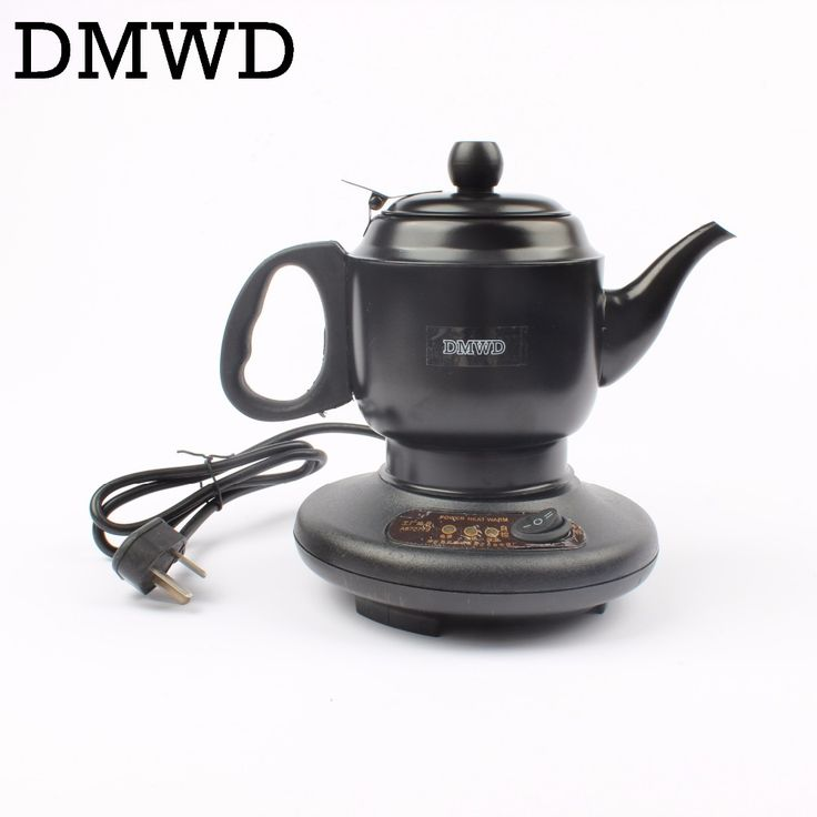 Find More Electric Kettles Information about DMWD Stainless steel Thermal insulation electric kettle teapot 0.6L 450W automatic hot water heating boiler tea pot EU US plug,High Quality stainless steel electric teapot,China electric kettle Suppliers, Cheap electric tea kettle from Lily's Sunshine Store on Aliexpress.com