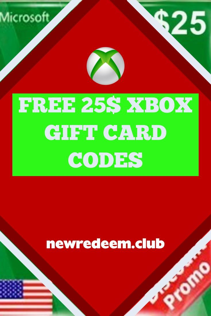 Get a 25 xbox gift card giveaway in 2020 xbox gift