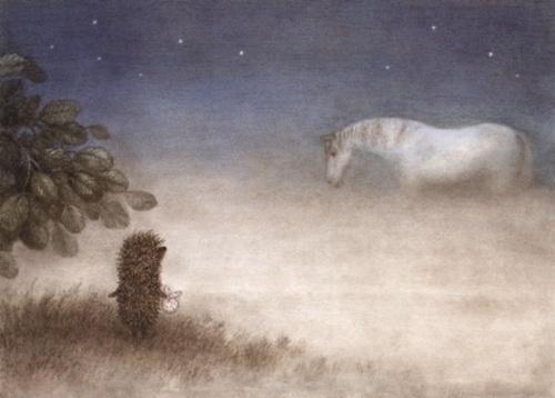 """""""Le hérisson dans le brouillard"""" - Youri Norstein (1975)"""