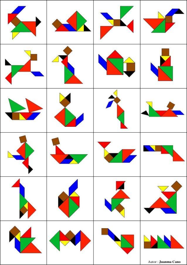 Figuras tangram niños