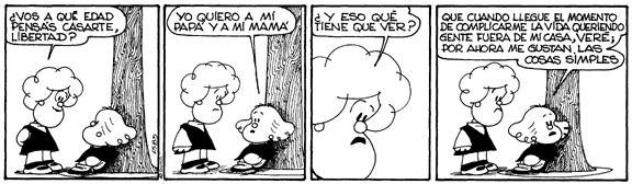 #mafalda | libertad y el casorio