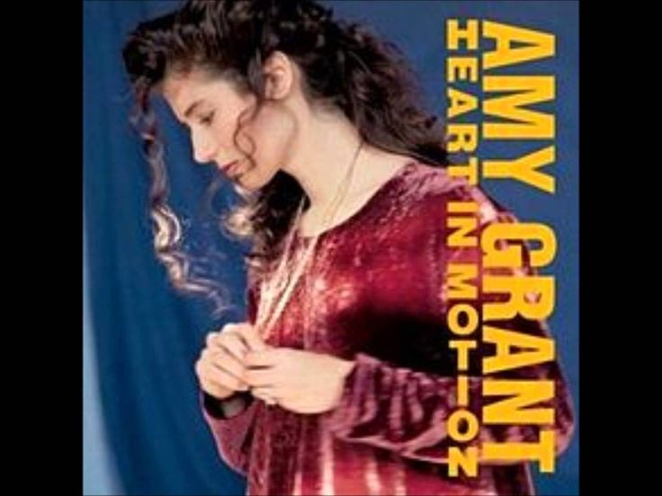 Amy Grant - my very first musical influence. Boom.