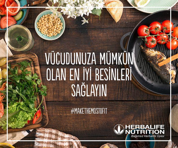 Vücudunuza mümkün olan en iyi besinleri sağlamak için #herbalife   https://www.senintercihin.com/blog-detay/herbalife-ile-kontrolu-elinize-alin