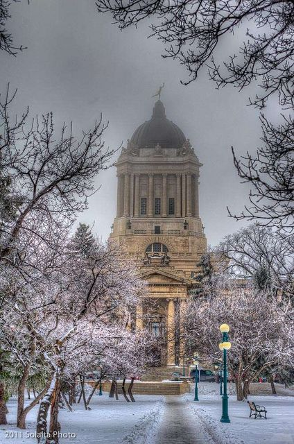 Winnipeg Legislative Building, Winnipeg, Manitoba, Canada