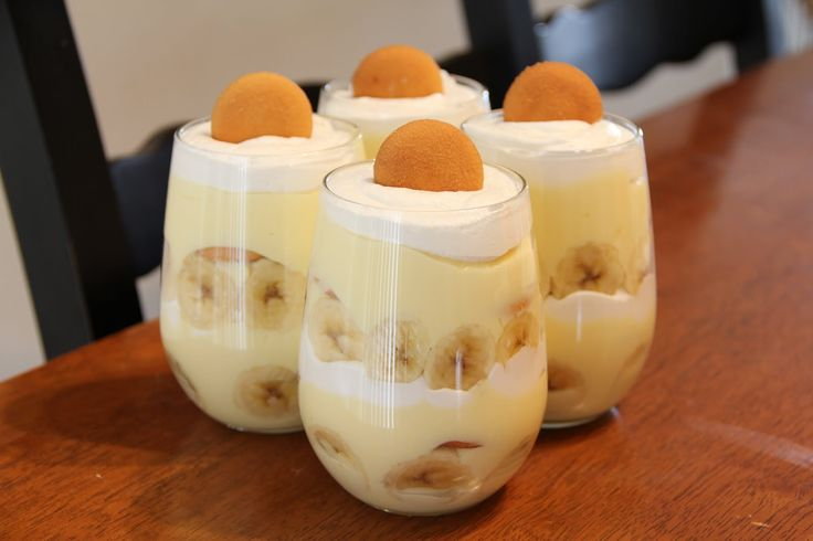 In stead of Grooms cake.. Banana pudding will be served in wine glasses!