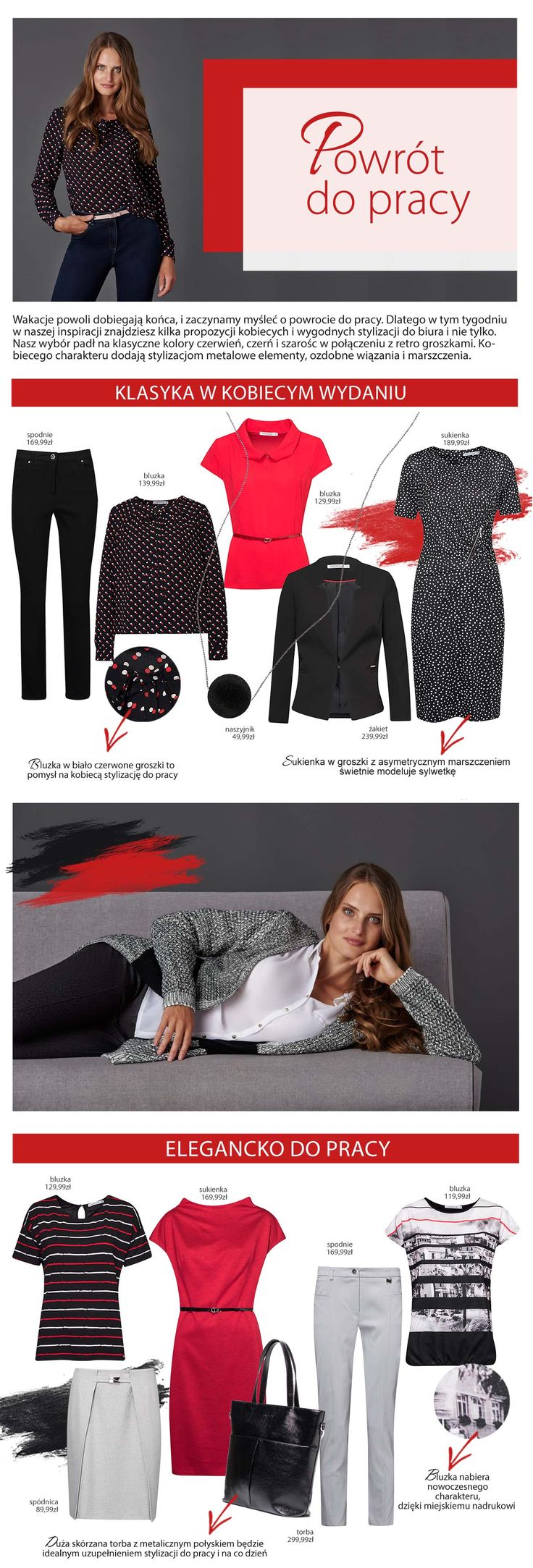 #quiosquepl #quiosque #naszeinspiracje  #lady #style #outfit #dress #blouse #bag #trousers #feminine #kobieco #womanwear #trends #inspirations  #fashion #polishfashion #polishbrand #aw1617 #powrotdopracy